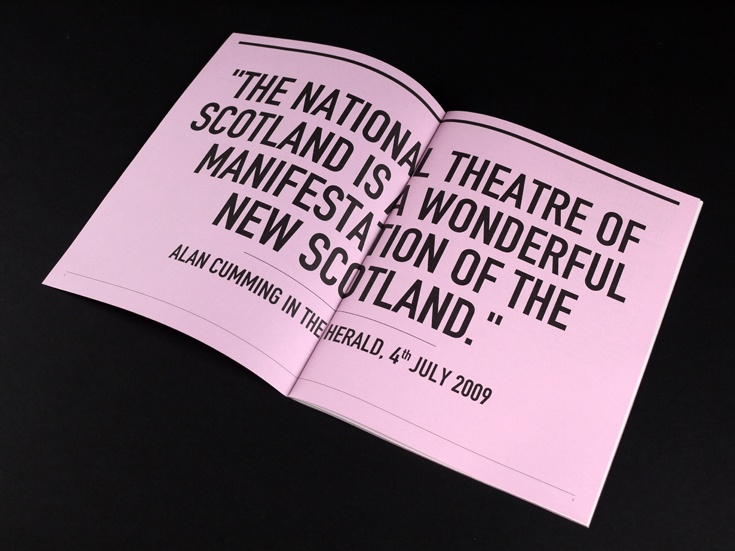 Graphical House - National Theatre of Scotland