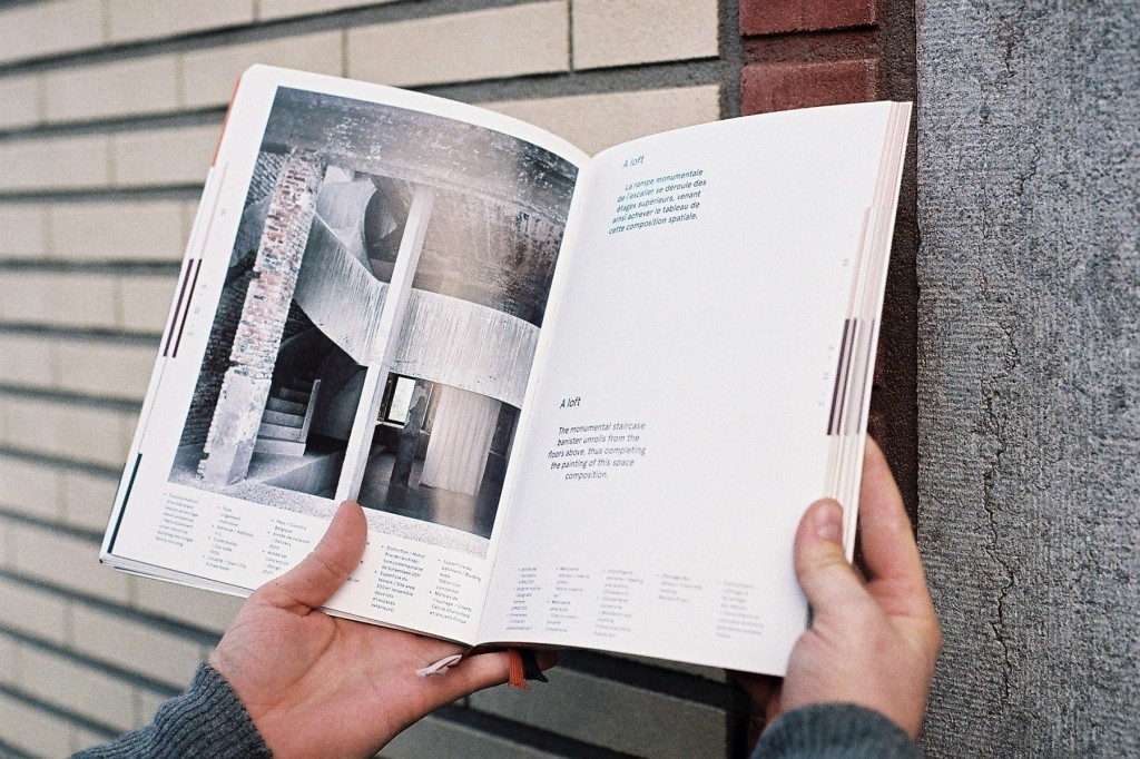 Inventaires #1, an architecture book for The Federation Wallonia-Brussels.