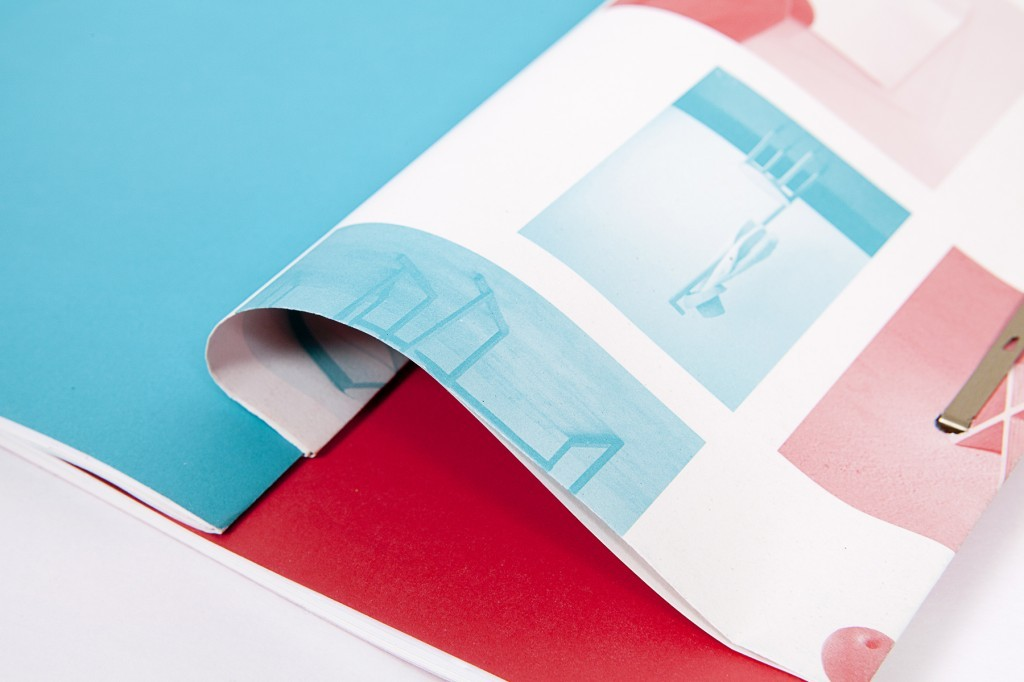Home Sweet Home, a double sided catalogue for product designers double show at Grand-Hornu.