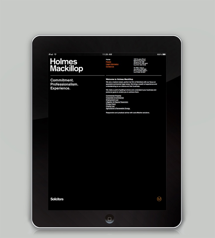 Graphical House - Holmes Mackillop