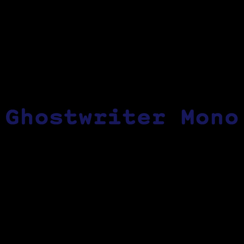 Ghostwriter Mono – Schick Toikka