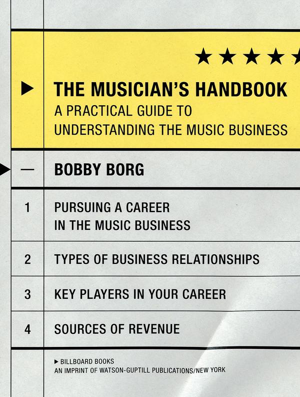 The Musician's Handbook on the Behance Network