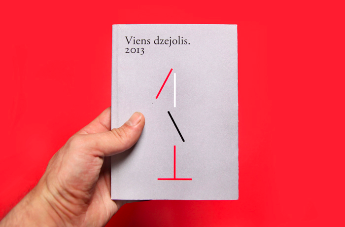 Zigmunds Lapsa / graphic design & illustration / Viens dzejolis