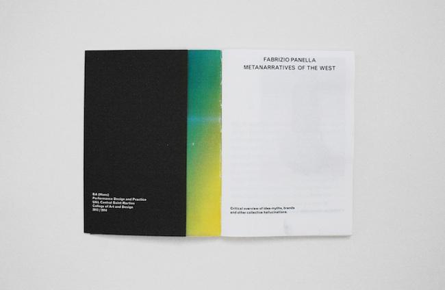 2014 — Metanarratives of the West - Andrea Evangelista