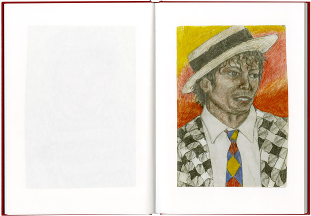Fraser Muggeridge studio: Dawn Mellor - Michael Jackson and Other Men, Studio Voltaire 2011