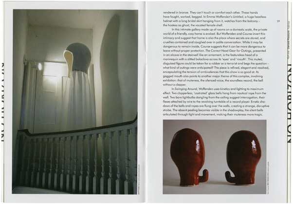 Fraser Muggeridge studio: Emma Woffenden: No Horizon, Angel Row Gallery 2003