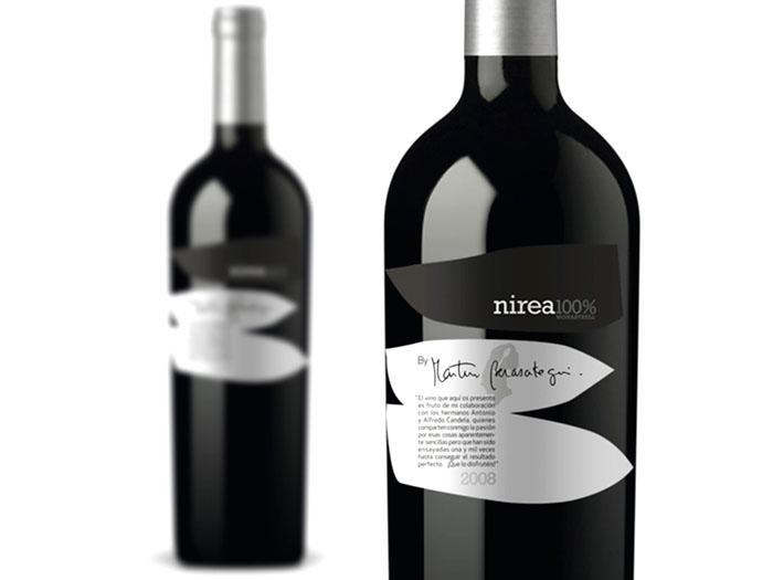 Nirea - Wine Packaging Blog - The Dieline Wine