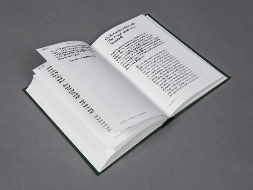 Floris van Driel – Graphic Design / Open Letter: Kenneth Goldsmith