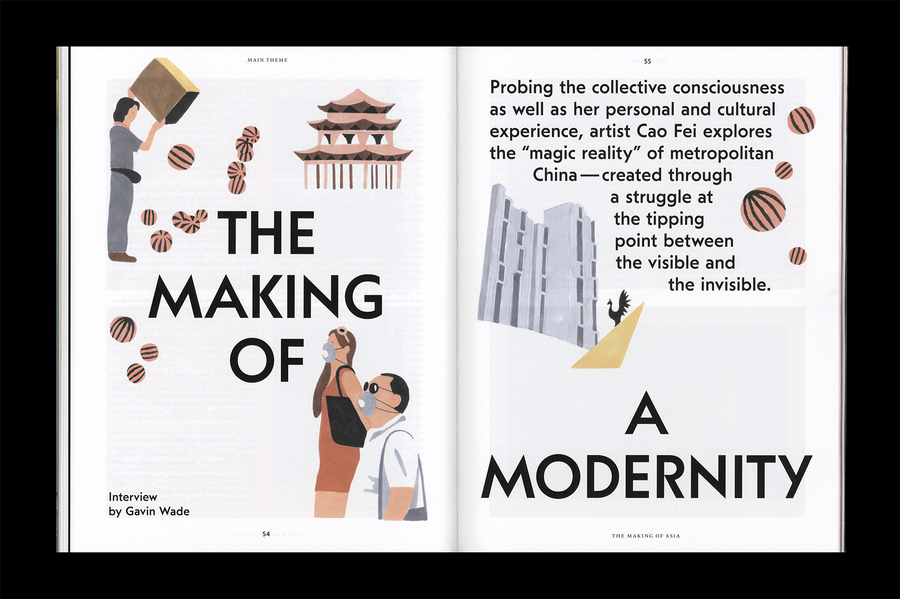 Kaleidoscope Issue 19, The making of Asia - OK-RM