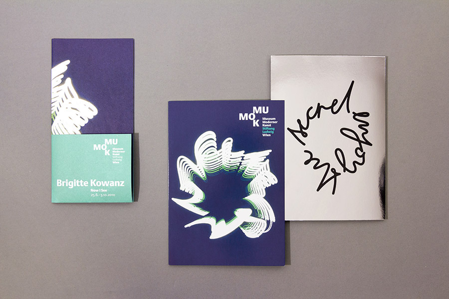 Brigitte Kowanz Exhibition - Manuel Radde — Graphic Design