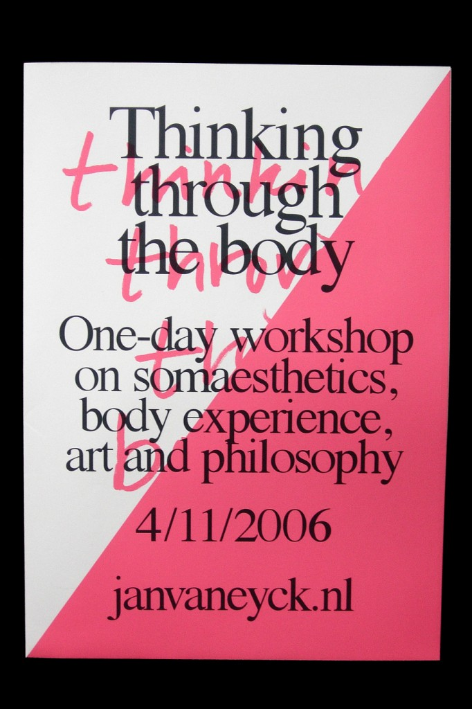 Matthijs van Leeuwen » Thinking through the body