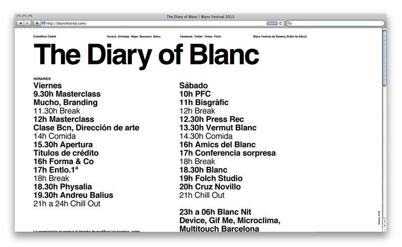 P.A.R - Blanc Festival