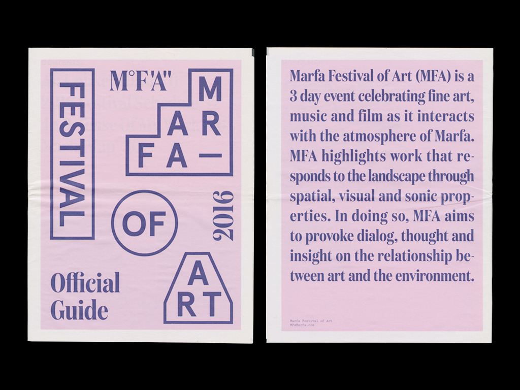 BS — Marfa Festival of Art