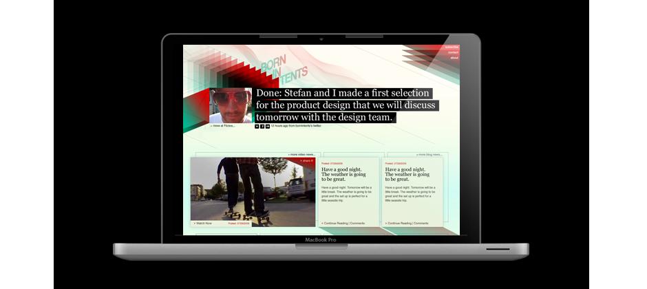 Twoto - Patrick Decaix - Art Director and Flash Developer - twoto creates, develops and produces interactive experiences - Bornintents