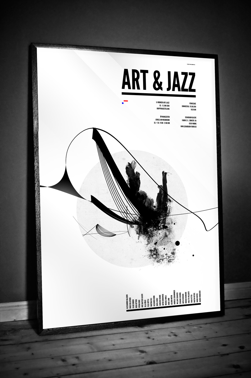 Art and Jazz Poster | Youlookfor . Design