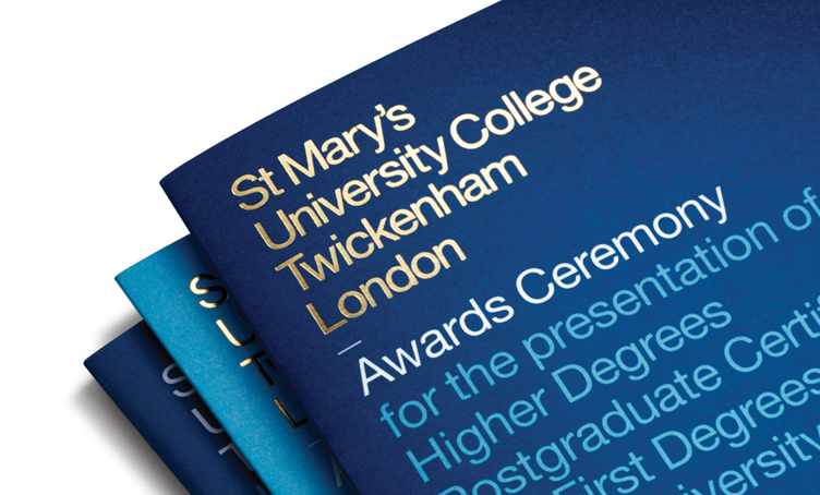Mytton Williams Brand & Design - St Mary's University College