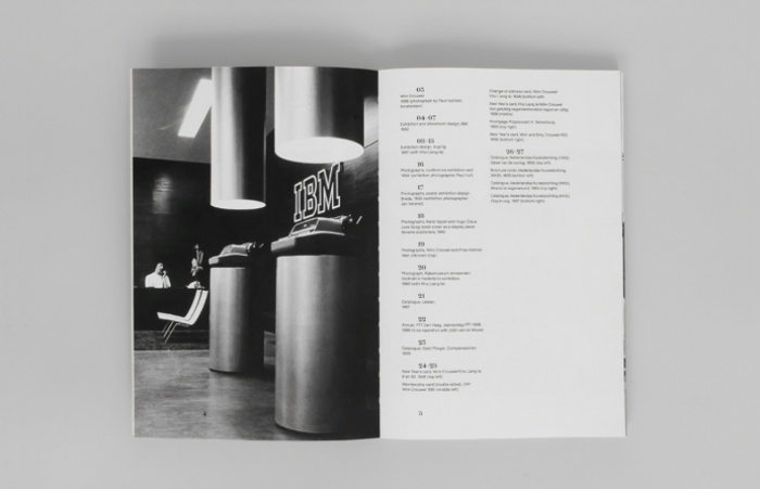 Unit Editions — Wim Crouwel - Catalogue, Cover No.1 (Unit 04)