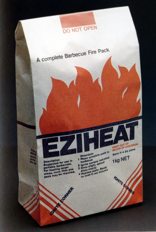 Item 146: Ezi-Heat packaging / John Nowland / 1980s « Recollection