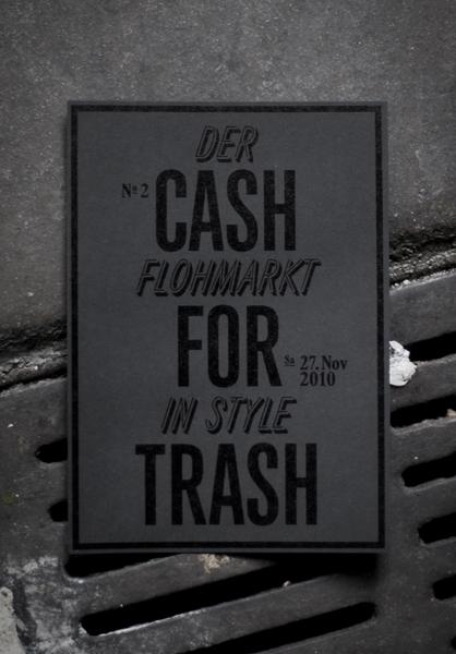 Cash for Trash Nr.2 : dominic rechsteiner