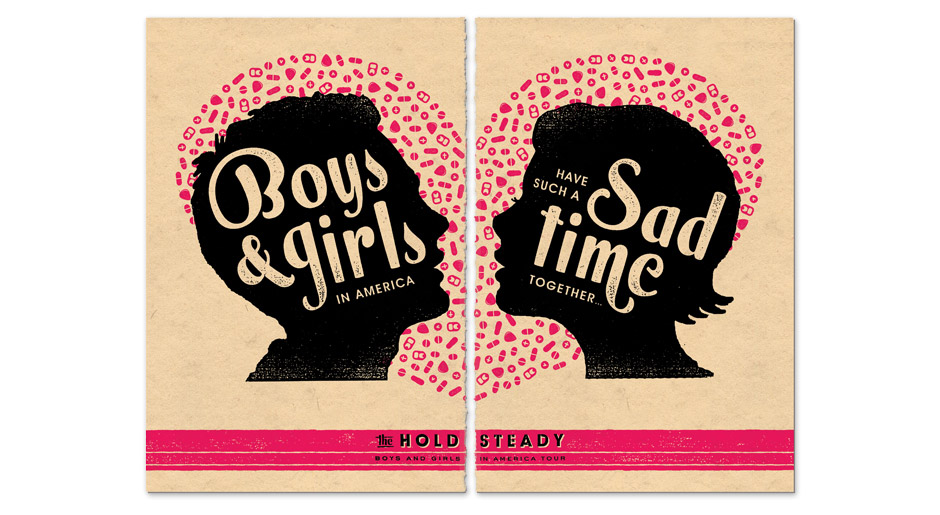 """Boys and Girls"" Promotional Poster 