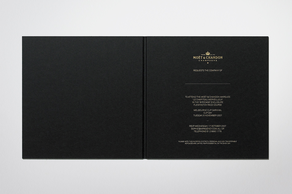 Fabio Ongarato Design | Moët Chandon