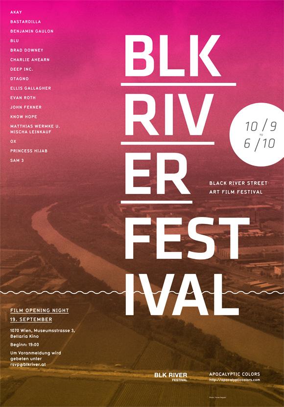 BLK River Festival – Ed Nacional / Graphic Designer / Brooklyn, NY