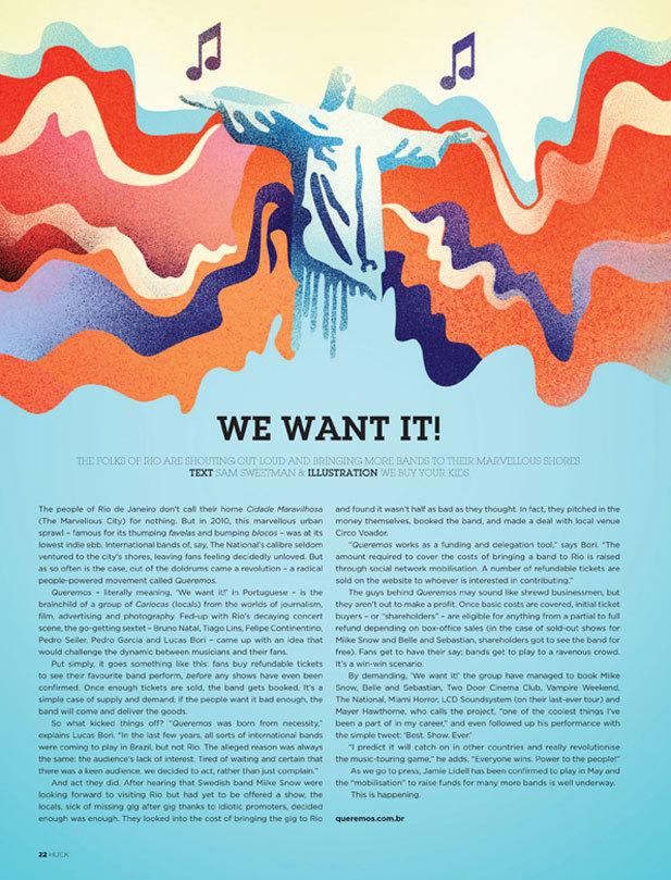 Huck Magazine - WBYK
