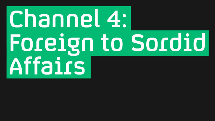 Channel 4 - Projects - Fontsmith