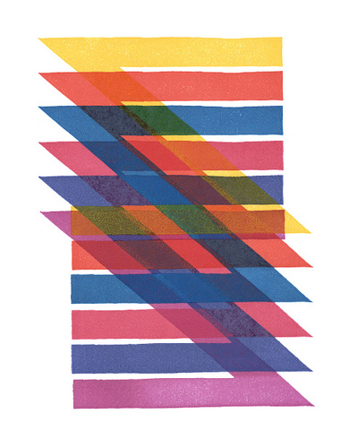 Eye blog » Permutations in colour. Exploring the dramatic possibilities and problems of overprinting