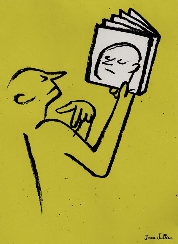 Jean Jullien's online portfolio: NEXT MAGAZINE