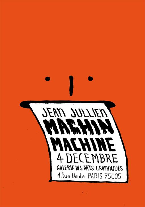 Jean Jullien's online portfolio: MACHIN MACHINE