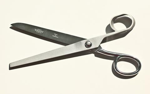 Handmade Wallpaper* Scissors | Dentsu London