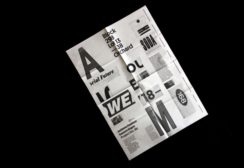 Working Format — graphic design, art direction and type design