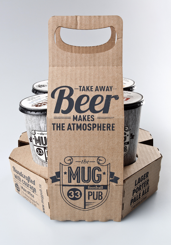 MUG pub on the Behance Network