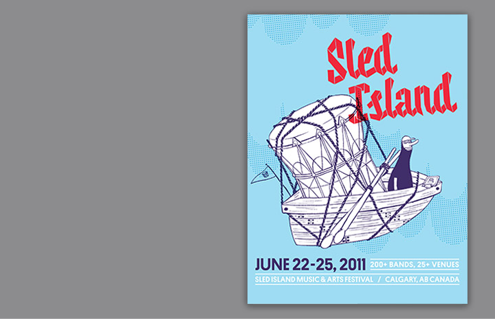 Sled Island 2011 - Working Format