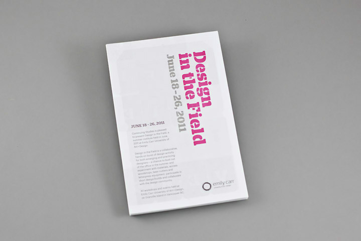 Design in the Field - Working Format