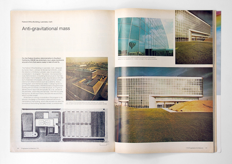 Progressive Architecture Magazine, 1976 | Gridness