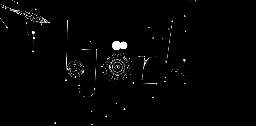 """Björk - Biophilia for iPhone/iPad - """"multimedia exploration of the music universe and its physical forces, processes and structures"""" 