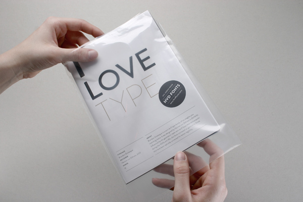 HVD Fonts Poster on the Behance Network
