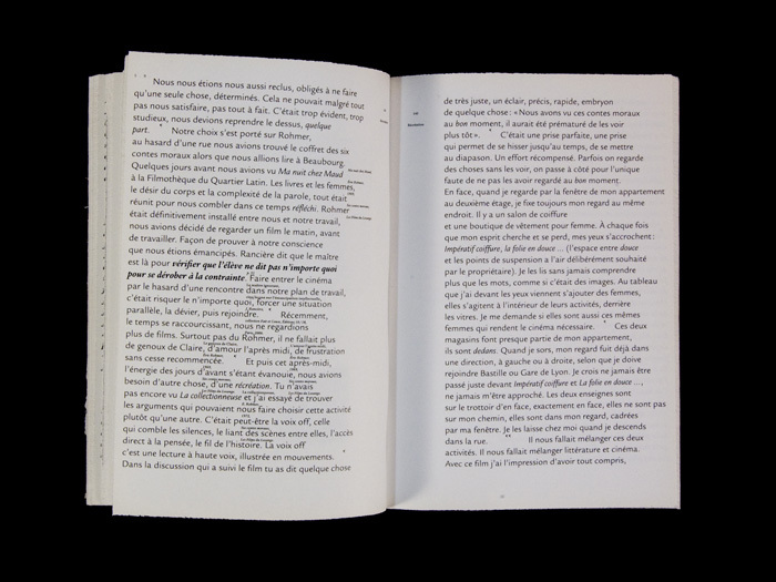 Graphic Method for a library : Samuel Bonnet & Maël Fournier Comte