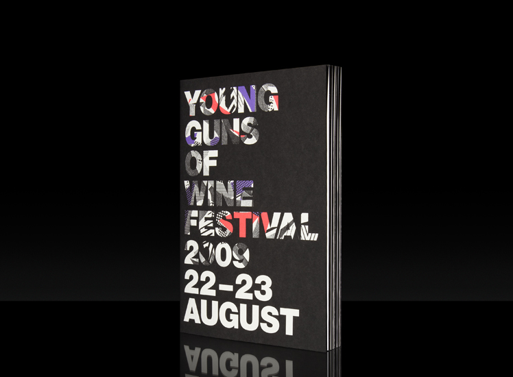 3 Deep Design - Projects - Art Direction - Young Guns of Wine Festival