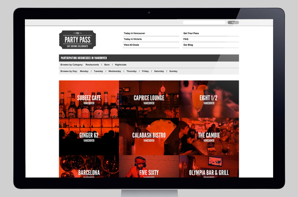 Party Pass on the Behance Network