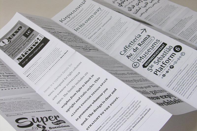 Group Specimen : Type and Media 2010