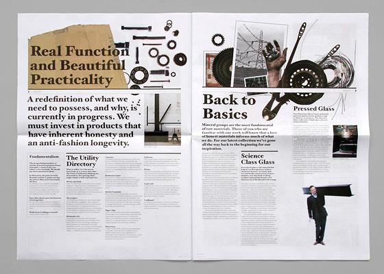ANDY LANG / graphic design / tom dixon review 2009