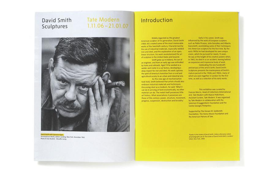 NB: Tate David Smith exhibition