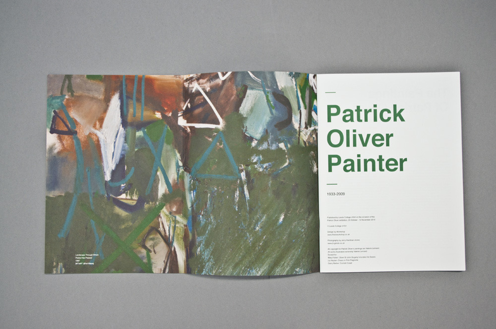 Patrick Oliver Painter | Catalogue