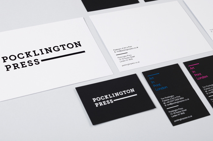 POCKLINGTON PRESS « IYA STUDIO LONDON | DESIGN | ART DIRECTION