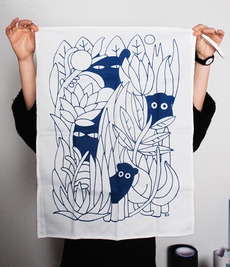 E.X. - Elena Xausa / Work / Images / Tea Towels