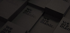 Manic Namecards - Manic Design: Singapore web + print design agency