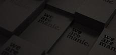 Manic Namecards - Manic Design: Singapore web + print design agency